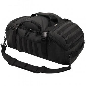 3 in 1 taktikai bevetési táska és hátizsák egyben fekete