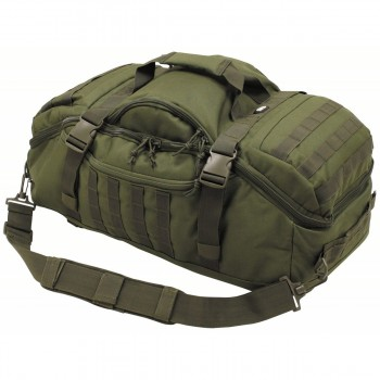 3 in 1 taktikai bevetési táska és hátizsák egyben oliv