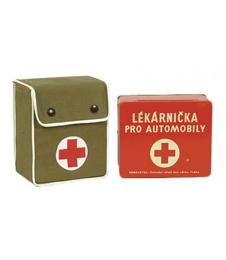 Nosztalgia egészségügyi csomag fém dobozban