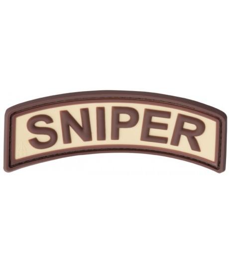 Sniper desert 3D tépőzáras felvarró